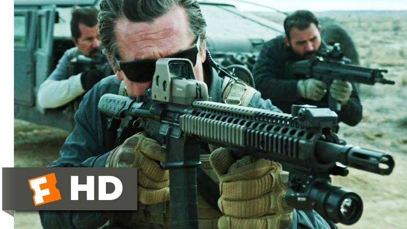Sicario Day of the Soldado (2018) - Police Escort Shootout Scene (610) | Movieclips