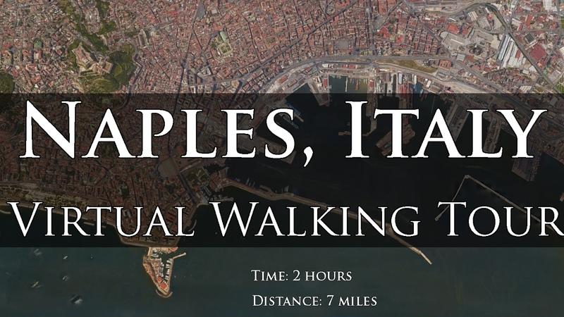 Naples, Italy Walking Tour
