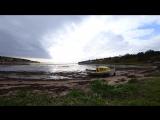 Отлив и прилив на Белом море