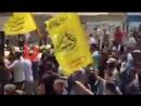 بالفيديو - تشييع جثماني الشهيدين أحمد حسان ونجله لؤي الذين ارتقيا إثر انفجار غرب مدينة غزة