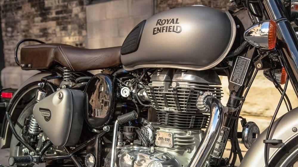 Компания Royal Enfield разрабатывает новый мотоцикл Classic 500 Scrambler
