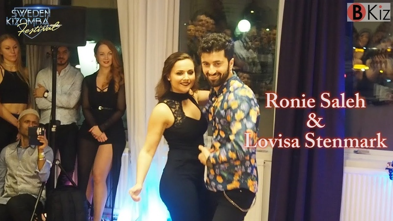 SWEDEN KIZOMBA FESTIVAL 2018: RONIE SALEH LOVISA STENMARK - show.📽📸👠