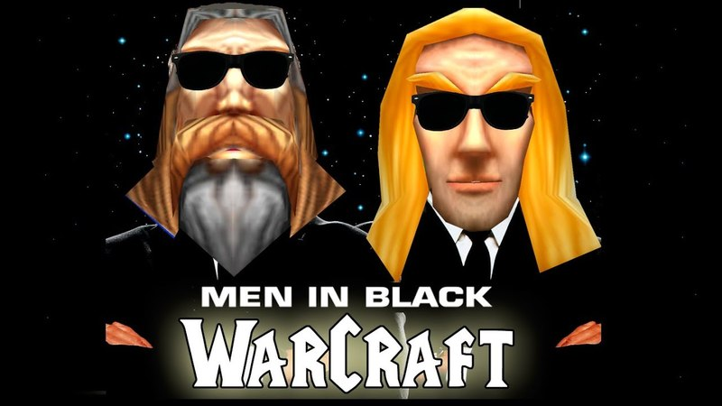 Men in Black Intro (Warcraft style)