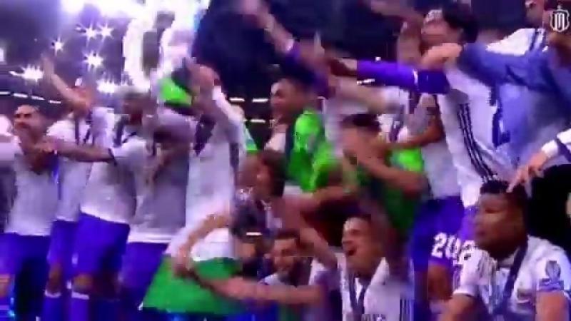 Навас выложил видео с 3-мя победами «Реала» в Лиге Чемпионов