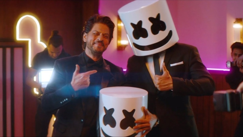 Marshmello x Pritam - BIBA feat. Shirley Setia Shah Rukh Khan (Official Music Video)