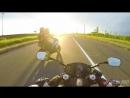 Слегка навалил на мотоцикле Honda CBR 600 F4 и релакс у Финского залива.