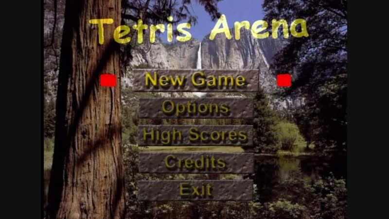 играю игру Тетрис на пк