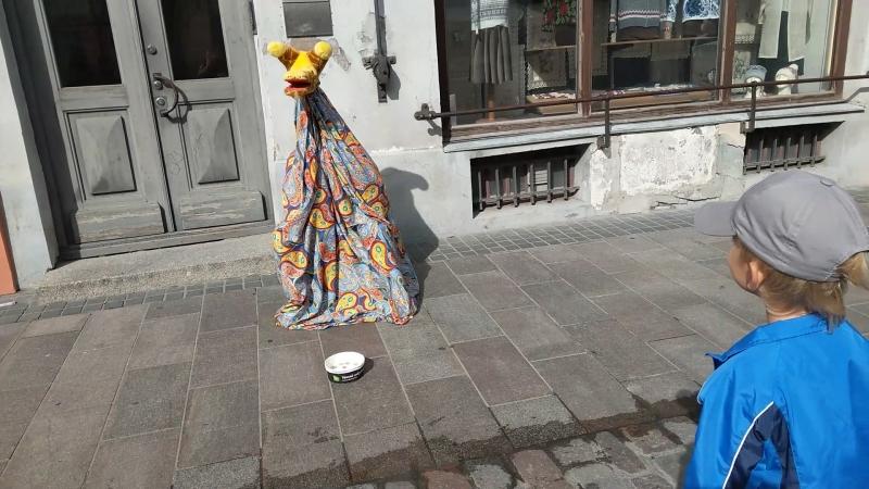 Чудо-юдо в старом Таллине