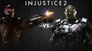 Injustice 2 - Дэдшот против Брейниака - Intros Clashes rus