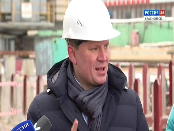 Брифинг глава Красноярска обсудил сроки ввода в эксплуатацию двух детских садов