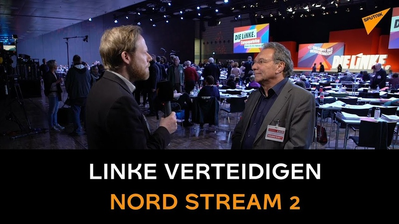 USA an starkem Europa nicht interessiert Linke verteidigen Nord Stream 2