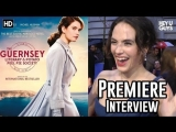 Jessica Brown Findlay & the importance of The Guernsey Literary and Potato Peel Pie Society Premiere