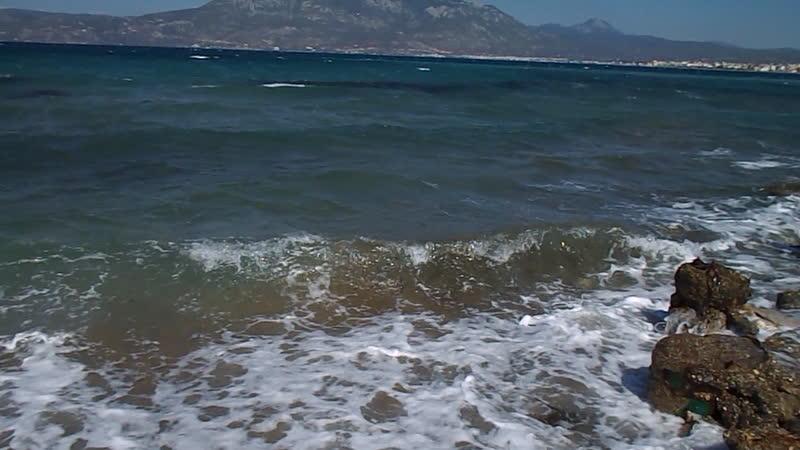 Море между Коринфом и Лутраками 1 сентябрь2018