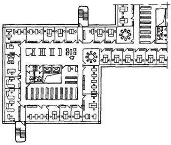 Особенности планировки общественных зданий