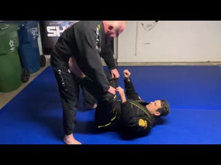 Ricardo Cavalcanti - Spider guard sweep with leg lock