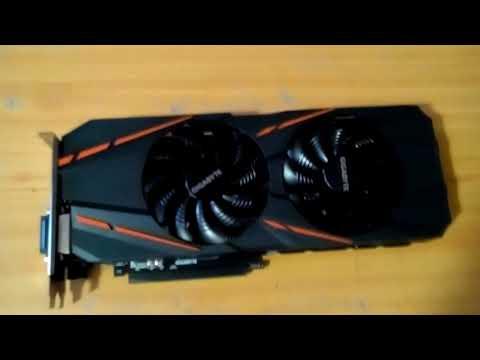 Распаковка видеокарты GIGABYTE nVidia GeForce GTX 1060 (GV-N1060G1 GAMING-6GD)