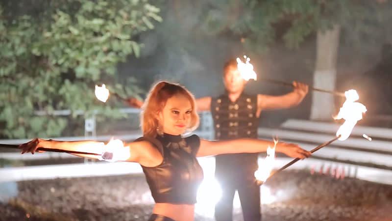 Фаер шоу Blaze | GOF show | Ростов