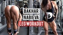 Bakhar Nabieva HARDCORE Leg Workout