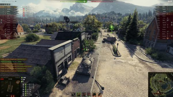World of tanks Истории танкистов - Progetto M40 mod. 65