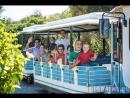 Трансфер на паровозике от отеля Chia Laguna – Village 4* до пляжа