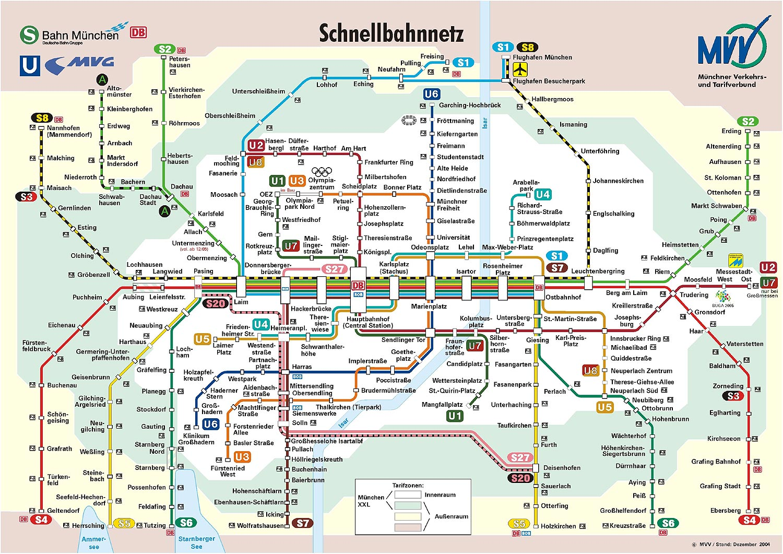 Схема городского метрополитена