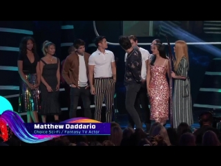 @ShadowhuntersTV came out of the shadows with a WIN! TeenChoice