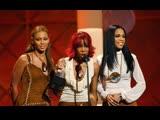 Destinys Child Wins Favorite Pop Rock Album For Survivor (@ AMA 2002)