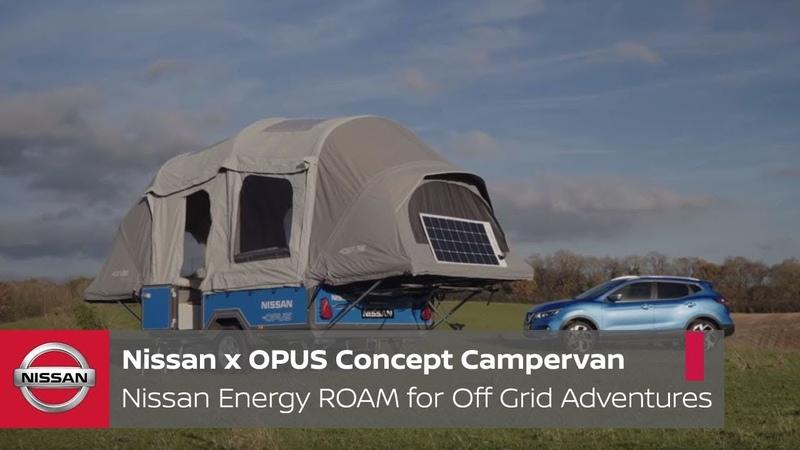 Nissan x OPUS Concept Campervan: Nissan Energy ROAM for Off Grid Adventures