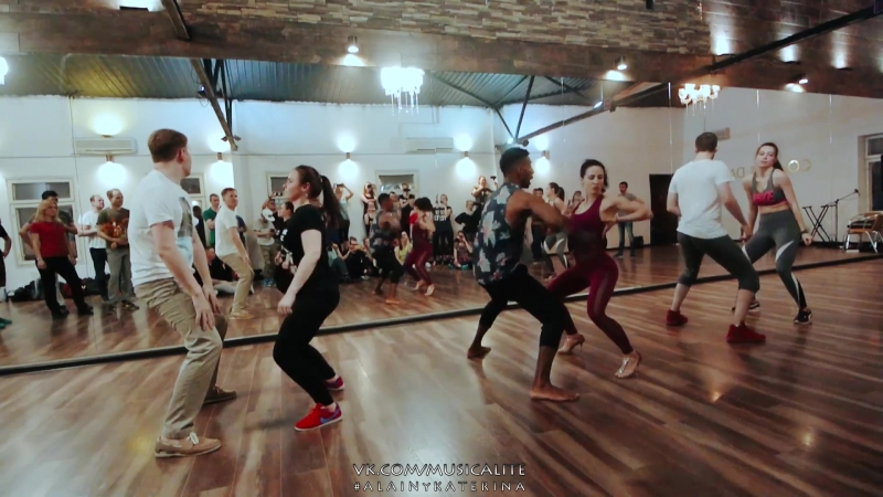 Alain Rueda Katerina Mik - Bemba Colora | Timba in action @Entre La Rumba y El Son musicality course | Moscow, Russia 2018