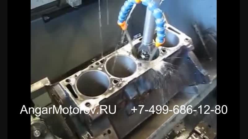 Ремонт Блока Цилиндров Двигателя Audi A5 3 0 TFSI Шлифовка Расточка Опрессовка Сварка Гильзовка Ремонт постели