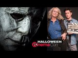 HALLOWEEN TRAILER REACTION - (2018) Jamie Lee Curtis Horror Film - CinemaCon 2018