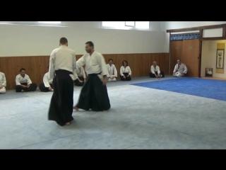 Aïkido BRAHIM Si GUESMI au Dojo René VDB, Janv 18 (1ère partie).mp4