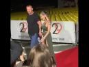 Елена Беркова на красной дорожке Кинотавра вышла без нижнего белья.