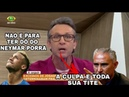 NETO DETONA TITE NEYMAR E A CBF AO VIVO!!