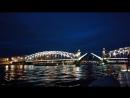 Разведение моста Петра Великого