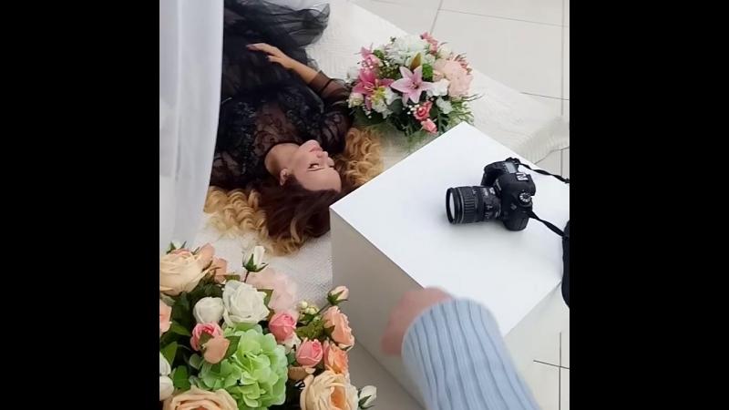Блогер Светлана Машкова в гостях у Омской фотостудии Сахар