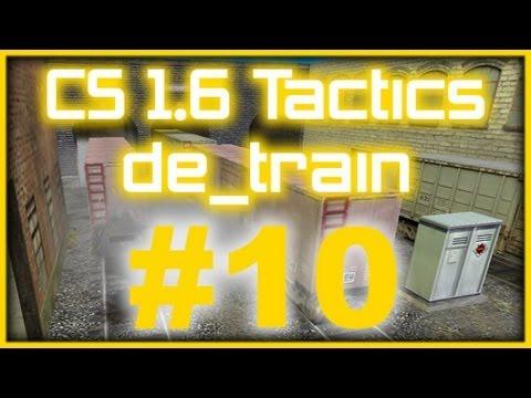 CS 1.6 Tactics 10 Na`Vi de_train rush A-plant (T Side)