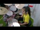 Пример для юных барабанщиков