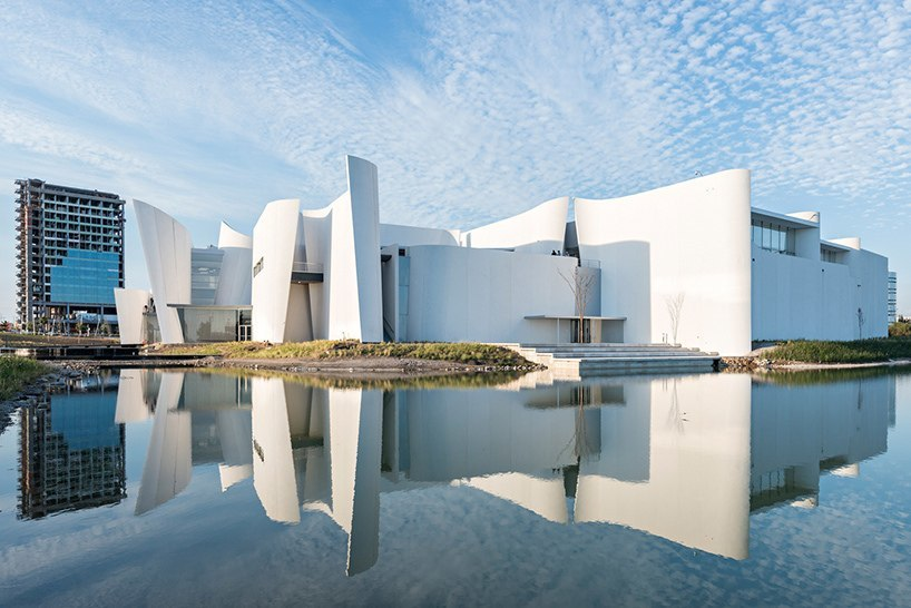 toyo ito completes sculptural museum in mexico dedicated to baroque art