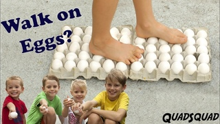 Walking on Eggs CHALLENGE - Science Experiment