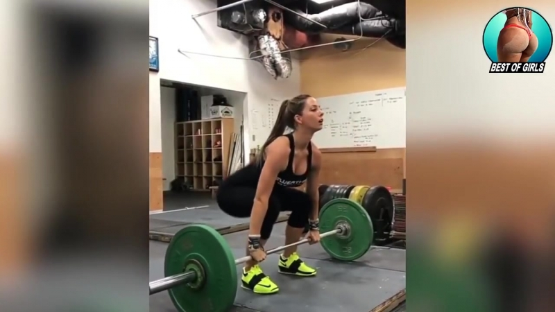 VERY HOT CROSSFIT GIRLS WORKING HARD JANUARY 2018 - Best of Girls ✔