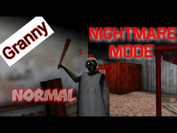Granny . Прохождение Nightmare mode на Normal .