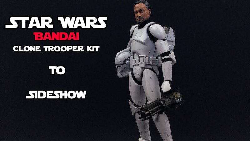How To Make Your Bandai Clone Trooper Kit Look Like A SideShow Figure