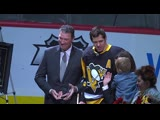 Evgeni Malkin honored for 1,000th point