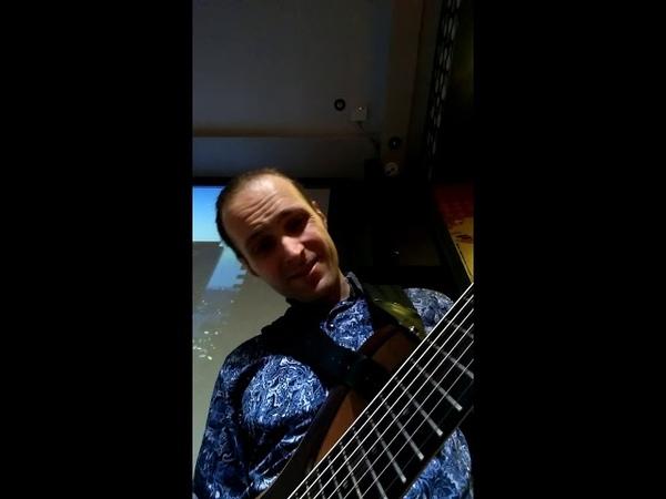 Ibanez btb 7 bass solo by Alex Zavolokin