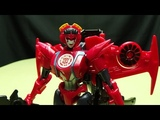 Robots in Disguise Warrior WINDBLADE EmGo's Transformers Reviews N' Stuff