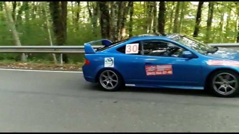Acura RSX горная гонка Сочи'18