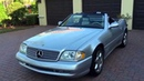 2002 Mercedes Benz SL500 Silver Arrow for sale by Autohaus of Naples