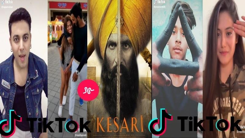 Kesari|Official Trailer| Musically Tiktok Video|Akshay Kumar|Ve Maahi,Sanu Kehndi,Teri Mitti |tiktok