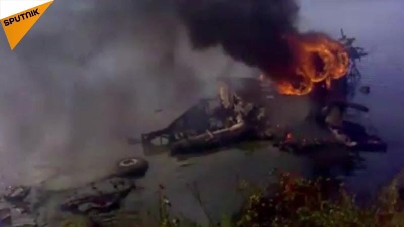 Sieben Jahre Flugzeugunglück bei Jaroslawl